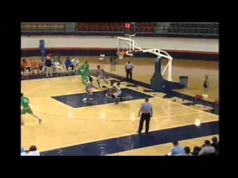 Deontae North Half-Court shot vs. Clarendon