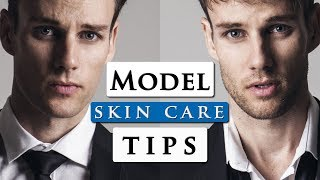 Video Male Model Skincare Routine | Best Skincare Products For Men MP3, 3GP, MP4, WEBM, AVI, FLV Mei 2019