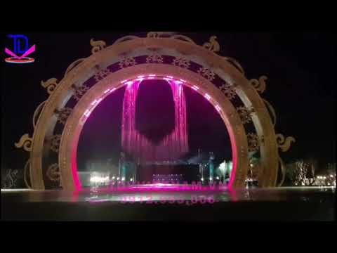 Lắp đặt màn nước tại Mũi Né Bay Resort | Liên Hệ 0912 995 006