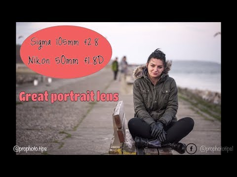 Portrait shoot: Sigma 105mm f2.8 vs. Nikon 50mm f1.8D