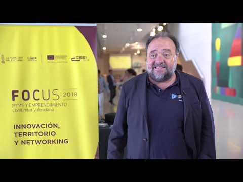 Joaquín Garrido, Socio Director de Clavei en #Focuspyme Conectando Startups[;;;][;;;]