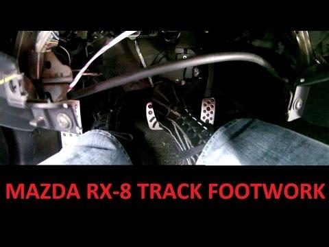Track Footwork (heel-toe and left foot braking)