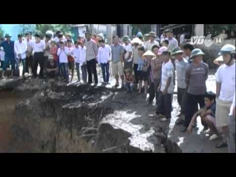 Tái diễn sụt lún tại 'hố tử thần' ở Thanh Hóa