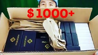 Video OMG! FREE HUGE BOX of Fidget Spinners (Noble Spin) + 3 Giveaway Winners Announced! MP3, 3GP, MP4, WEBM, AVI, FLV Agustus 2017