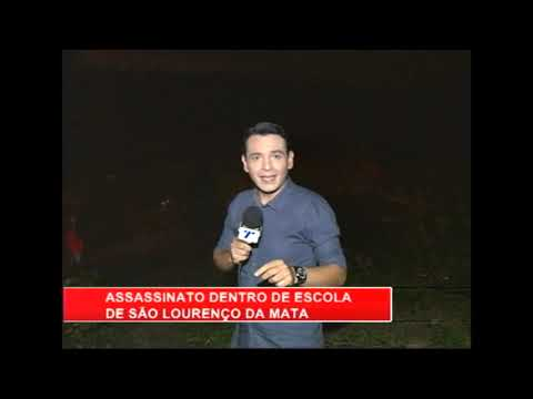 [RONDA GERAL] Jovem é assassinado dentro de escola em São Lourenço da Mata