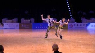 Stephanie Ruegg & Rene Bachmann - World Dance Sport Games 2013
