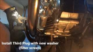 7. Royal Enfield Bullet Oil and Filter Change