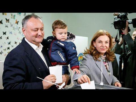 Μολδαβία: Ένας φιλορώσος και μια φιλοευρωπαία στο β' γύρο των προεδρικών εκλογών – world