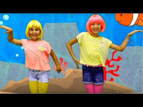 #ПесенкиДляДетей про рыбку, базар и песенка-зарядка! #ДетскиеПесни сборник! #Зарядка детям (видео)