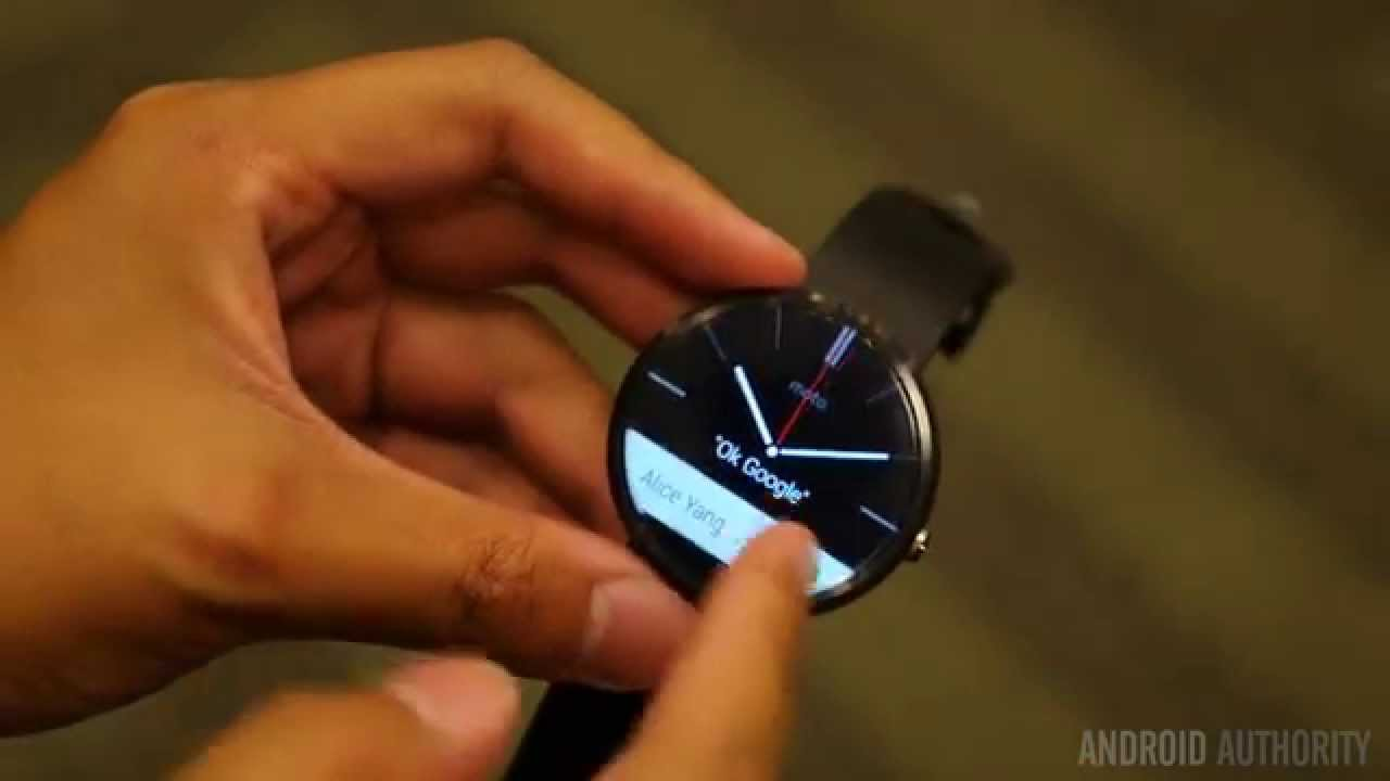 Moto 360 First Look!