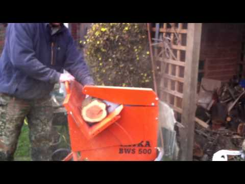Belle - Atika BWS 500 log saw