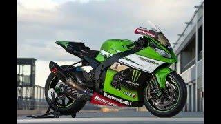 10. Riding Jonathan Rea's Kawasaki ZX 10R Superbike