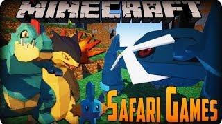 Pixelmon 2.5 Safari Games w/The Creator of Pixelmon and Craftbattleduty (LiveStreamed)
