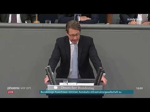 Rede von Andreas Scheuer zum Etat für Verkehr und d ...