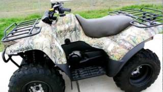 9. 2011 Kawasaki Prairie 360 4X4 Camo: Overview and Review