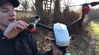 Walkera Voyager 3 really Fast Flying and Crash :)