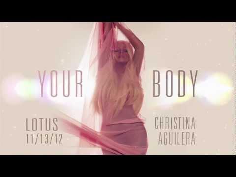 """Christina Aguilera """"Your Body"""" Premiere Announcement"""