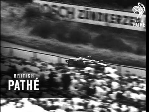 Nurburgring Grand Prix Won By Von Trips AKA German Grand Prix (1961)