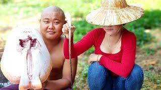 Ẩm Thực Món CÁ ĐUỐI NƯỚNG LU | Sơn Dược Vlogs #99