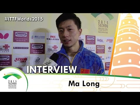 Ma Long - Qoros 2015 World Championships Interview