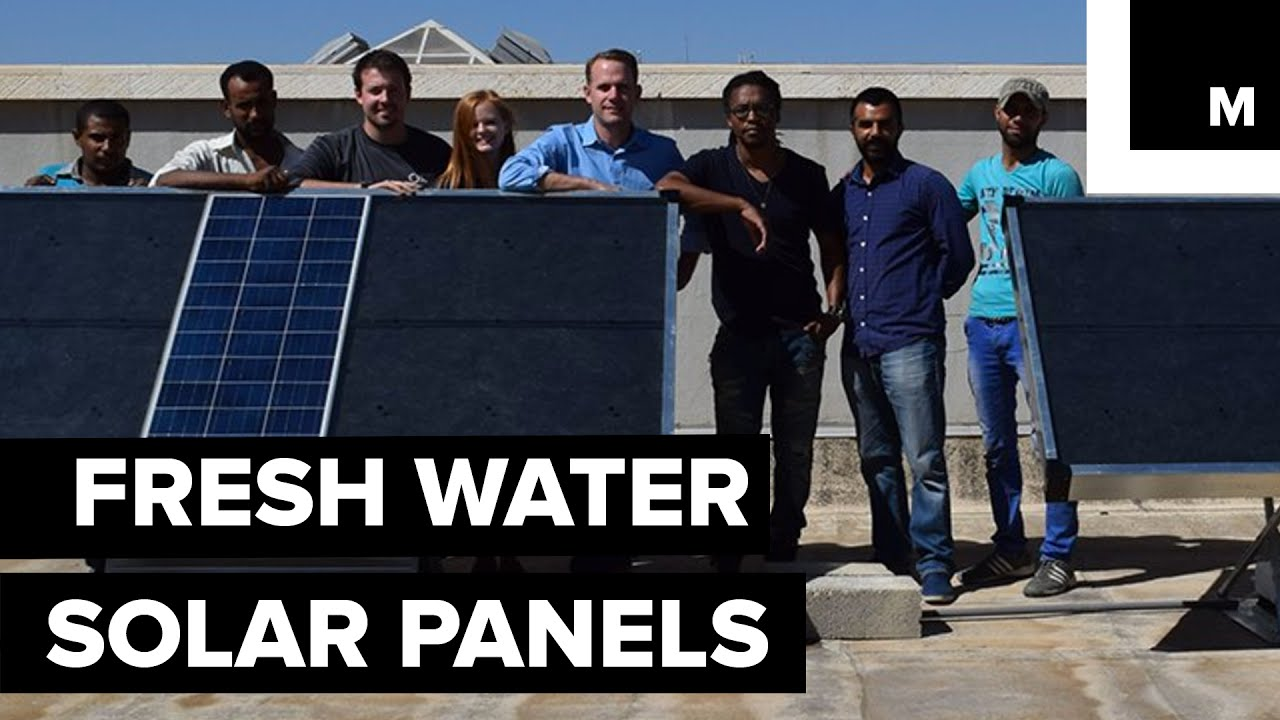 Fresh water solar panels