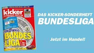 """Das kicker-Bundesliga-Sonderheft ist da! Mehr als 50 Ausgaben sind bereits erschienen, Generationen von Fans verbinden damit persönliche Erinnerungen. Über eine Million kicker-Sonderhefte gingen diesen Sommer in den Druck, jetzt mit mehr Seiten über die starke 2. Liga und ihre Traditionsvereine. Für Jean-Julien Beer, Mitglied der kicker-Chefredaktion ist die Entstehung """"jedes Jahr der Höhepunkt in der kicker-Redaktion""""."""