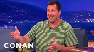 Adam Sandler & Jack Nicholson Bailed On The L.A. Lakers - CONAN on TBS
