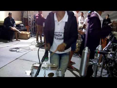 Passagem de som da Banda Pegada de Classe em morpará 27/06/2016