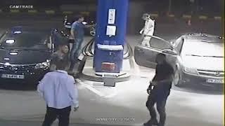 Tak się skończyło palenie peta przez gimbusa na stacji benzynowej…