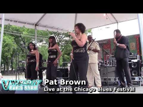 PAT BROWN - Chicago Blues Fest