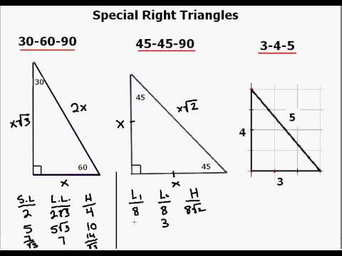 Relations between Various Elements of a Triangle