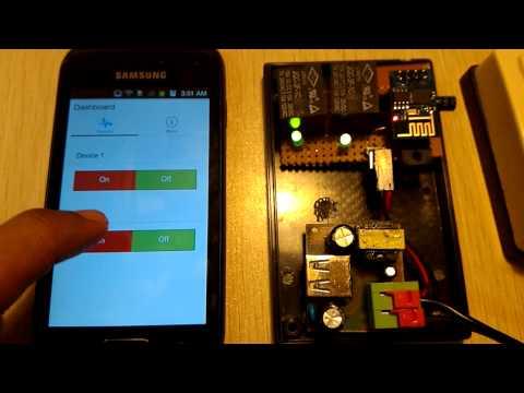 IoT - ESP8266 + MQTT + Node.js + Ionic Framework