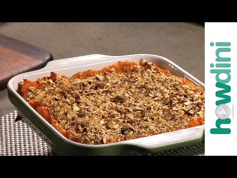 Sweet potato casserole recipe – Healthy and easy!