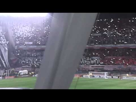 Video - Recibimiento Libertadores 15 Riv 1 bost 0 - Los Borrachos del Tablón - River Plate - Argentina