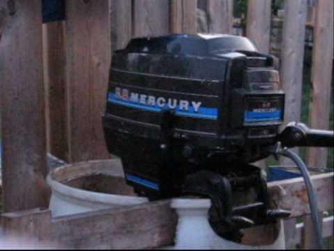 1982 Mercury 9.8 impeller service