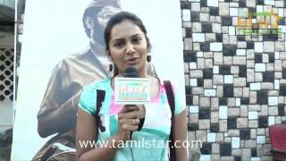 Lakshmi Priya at Ramasamiyin Anjal Short Film Screening