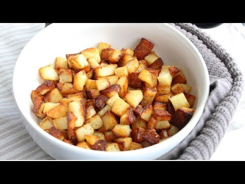 Fried Breakfast Potatoes| Fried Breakfast Potatoes recipe | Fried Potatoes
