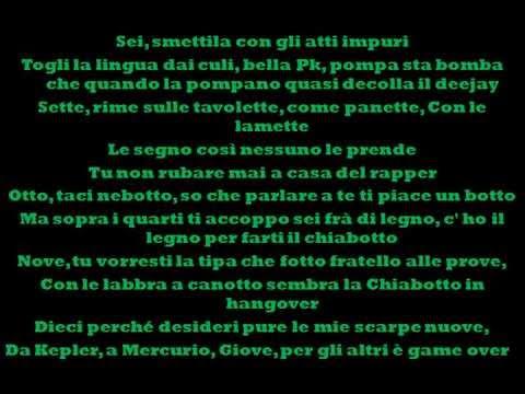 , title : 'Emis Killa - 10 comandamenti (feat. Madman & Gemitaiz) - prod. by Pk (testo)'