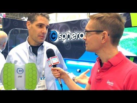 Sphero 2B – The Superfast Smartphone Robot: Hands-On & CEO Interview