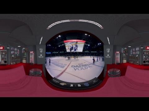 VR трансляция пятого матча финальной серии Чемпионата КХЛ при поддержке Coca-Cola. (видео)