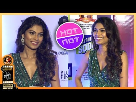 Lopamudra Raut Looks Sexy In Glittery Green Gown |