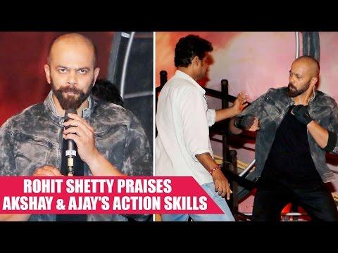 Rohit Shetty is All Praise For Akshay Kumar, Ajay Devgn's Action Skills
