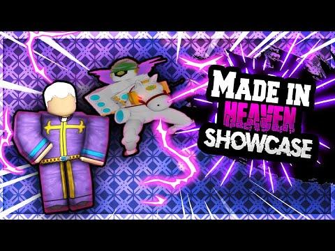Made In Heaven Stand Showcase I A Bizarre Day