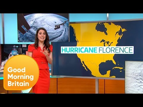 Will Hurricane Florence Be Worse Than Hurricane Katrina?   Good Morning Britain