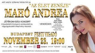 Mahó Andrea jótékonysági koncert A korszerű szülészetért és nőgyógyászatért Alapítvány javára