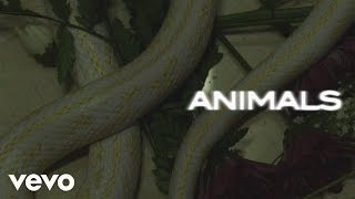 Maroon 5 - Animals (Lyric Video)