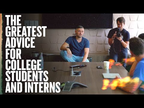 #1 Thing for an Intern or College Student to Do | 2018 Summer Interns Fireside Chat