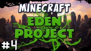 Minecraft - The EDEN Project, Part 4 - Simon is a massive arsehole