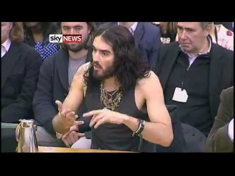 Russell Brand Tells MPs Drug Addiction Should Be Treated As Illness