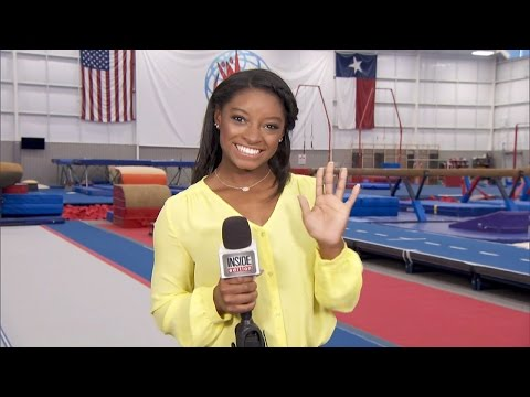 Olympian Simone Biles Will Be Inside Edition's Special Super Bowl Correspondent